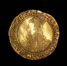 Queen Elizabeth I Gold Pound Sovereign For Sale
