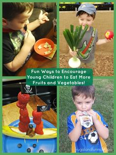 Encourage Young Children to Eat More Fruits and Vegetables! #SproutFoods #ad