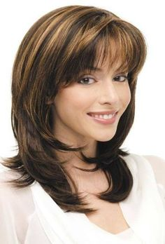 Medium length haircut with bangs medium length hairstyles for women