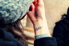 I like the placement of this tattoo. Swap it for stronger and left wrist.