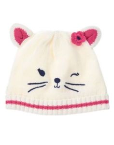 993285e56ecc Baby Ivory Kitten Sweater Beanie by Gymboree. imported and Collection Name  Little  Pals.