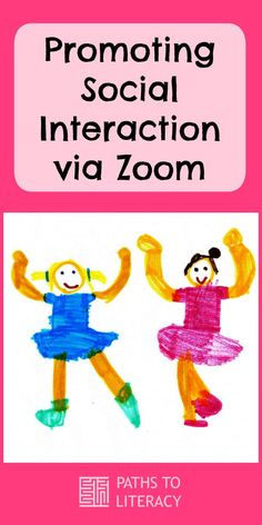 Ideas to promote social interaction among students with visual impairments and other special needs during Zoom online conferencing. Home Activities, Interactive Activities, Zoom Online, Special Needs Students, Home Learning, Home Schooling, Teacher Stuff, Documentary, Distance