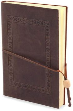 """Barnes & Noble Journal  (Tooled brown boarder Italian Journal 6""""x8"""")                                                                                                                                                                                 More"""