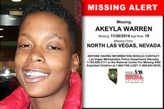 Have you seen this child? Missing Child, Missing Persons, Missing And Exploited Children, Amber Alert, North Las Vegas, Picture Sharing, Cold Case, Looking For Someone, Have You Seen