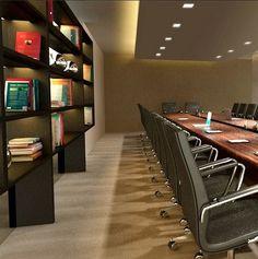 Sala de reuniões - Projeto corporativo Camila Klein Arquitetura e Interiores.