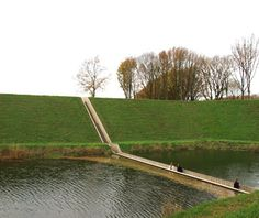 World's Strangest Bridges: Sunken Bridge, Halsteren, Netherlands