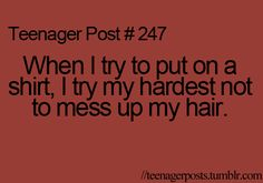 Teenager Post: talking on the phone and notice that your not talking at all just texting...