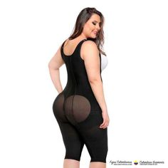 The full body girdle in knee length style with back coverage provides the body shaping effect you want while being comfy and friendly with the majority of outfits.