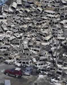 Photos of quake, tsunami damage in Japan