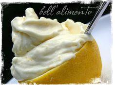 Lemon gelato ice cream maker !