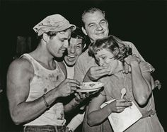 On the set of A STREETCAR NAMED DESIRE
