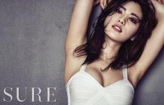 #Nana Flaunts Her Gorgeous Looks in #SURE Magazine #afterschool