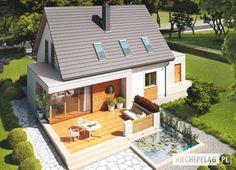 #Projekt domu  #ARCHIPELAG - Ernest G1