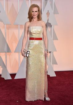 *-*Oscars Red Carpet 2015 -  87th Academy Awards - Arrivals Nicole Kidman arrives at the Oscars on Sunday, Feb. 22, 2015, at the Dolby Theatre in Los Angeles. (Photo by Jordan Strauss/Invision/AP)