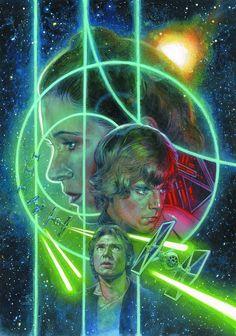 Cover art, Star Wars No. 12, Dec. 2013 (Dark Horse Comics)
