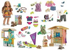 GOTY collection boards… added Lea | American Girl Playthings!: