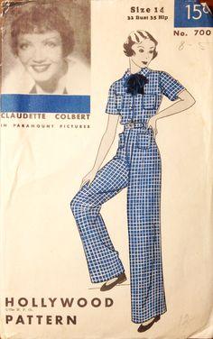 Hollywood Pattern 700 (1934)