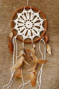 Filtro de sonhos de crochet com 3 opções de motivos para voce escolher R$ 28,00