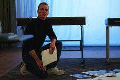 Still of Michael Fassbender in Steve Jobs (2015)
