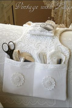 Sewing caddy- Perfect for craft room loveseat!