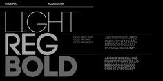 Check out the Code Pro font at Fontspring. Code Pro includes OpenType Standard Ligatures and features multiple weights.