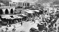 حجاج بيت الله الحرام في الطريق الى منى. Mecca, Islamic, Street View, History, Painting, Historia, Painting Art, Paintings, Painted Canvas
