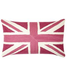 Britannia Cerise Cushion