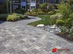 Paver Patterns, Driveway Design, Sidewalk, House Design, Patio Ideas, Gallery, Outdoor Decor, Home Decor, Walkway