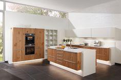Houten keuken Planeo Asteiche | Zeyko keukens