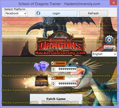Download the School of Dragons Hack, Tool, Cheats, Trainer 100% working for Facebook and iOS and have unlimited Gems and Gold.