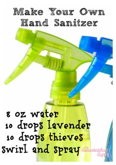 How to Make Your Own Hand Sanitizer | The Homesteading Hippy | #prepbloggers #essentialoils