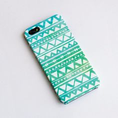 Geometric Mint Pastel iphone case iphone 5 case by IsolateCase, $22.00