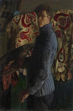 """huariqueje: """" Self Portrait - Carel Weight 1934 British oil on canvas, x """" Figure Painting, Painting & Drawing, Selfies, Tate Gallery, Collaborative Art, Portrait Art, Portrait Paintings, Illustrations, Artist Art"""