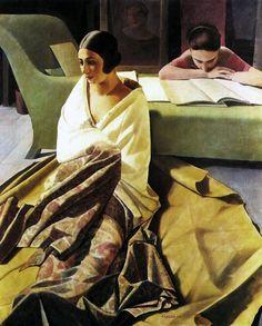casorati pittore opere | Atlante dell'arte italiana