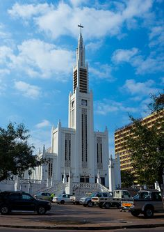 The Cathedral Nossa Senhora Da Conceicao, Maputo, Mozambique by Eric Lafforgue Out Of Africa, East Africa, Holy Art, Seychelles Islands, Maputo, Cape Verde, Guinea Bissau, Khalifa, Eric Lafforgue