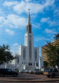 The Cathedral Nossa Senhora Da Conceicao, Maputo, Mozambique by Eric Lafforgue