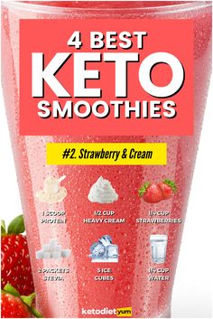Worried about carbs in smoothies? Fear not! These low carb keto smoothie recipes are easy, nutritious, and delicious--what's not to love?!