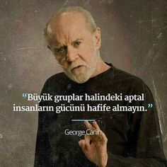 George Carlin, Good Notes, Meaningful Words, Note To Self, Book Recommendations, Famous Quotes, Funny Texts, Cool Words, Sentences
