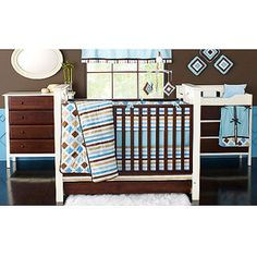 cute little boy room idea...obsessing with baby rooms.