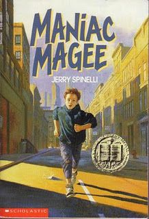 Maniac Magee-read this in elementary school. Great book