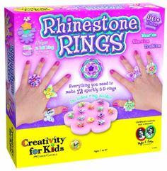 Creativity for Kids  Rhinestone Rings