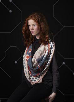 © Eugénia Sierko   #mapoesie #foulard #scarf