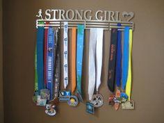 Novel way of hanging medals