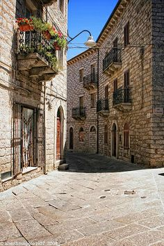 My place of birth .. This street si right behind My house ... Too strange find This in internet ❤️  Tempio Pausania, Sardinia, Italy