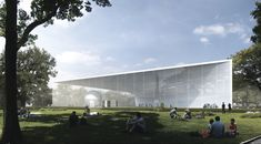 UNK project Wins Competition for Atomic Energy Pavilion in Moscow,Courtesy of UNK project