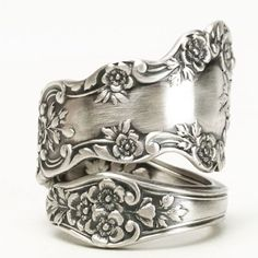 Buttercup Flower Ring Sterling Silver Spoon Ring Buttercup