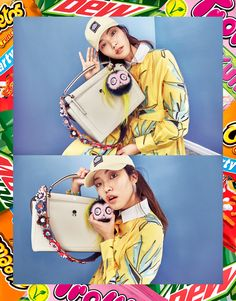 The latest Vogue Korea editorial featuring all the colorful Fendi must-haves of the season.