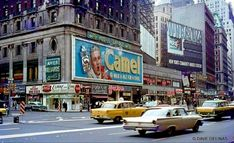 Times Square, 1968 Photograph by Dave Gerlinas Arrow, Sims, Times Square New York, Ny Ny, Vintage New York, City That Never Sleeps, City Streets, Aesthetic Pictures, Aesthetic Art