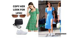 Coming from supermodel royalty, Kaia Gerber (Cindy Crawford's daughter) is known for her high-fashion and effortlessly cool looks! The young model looks so cute in her floral dress… We want one! Cindy Crawford Daughter, Style Fashion, High Fashion, Urban Looks, Kaia Gerber, Model Look, Young Models, Street Style Looks, Summer Trends