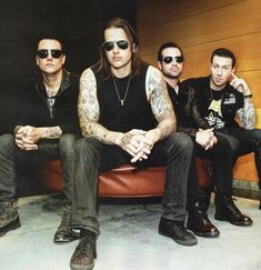 Avenged Sevenfold. For the same reasons as Nirvana, I can't call myself a fan, but I do respect them and their music and choice to rebel against the metalcore scene.